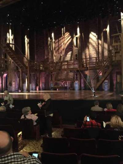 Richard Rodgers Theatre, section: Orchestra Side, row: H, seat: 6
