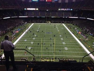 Mercedes-Benz Superdome section 601