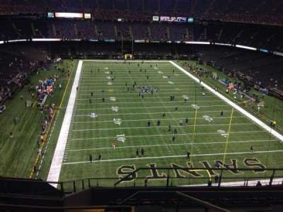Mercedes-Benz Superdome section 603