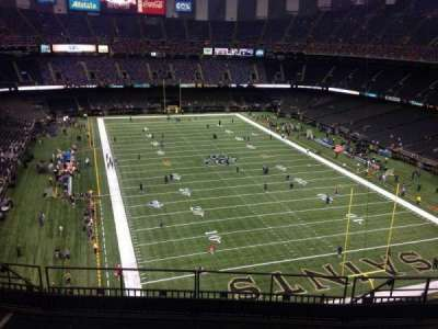 Mercedes-Benz Superdome section 604
