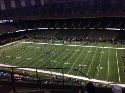 Mercedes-Benz Superdome section 610