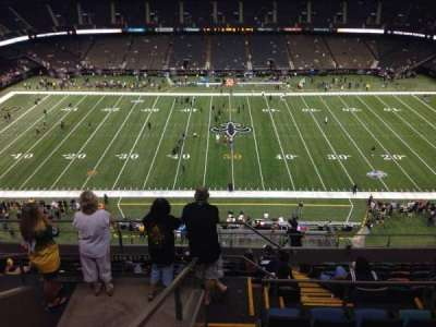 Mercedes-Benz Superdome section 614