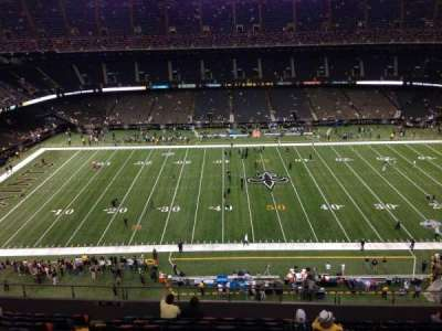 Mercedes-Benz Superdome section 615