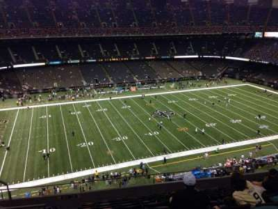 Mercedes-Benz Superdome, section: 617, row: 11, seat: 12