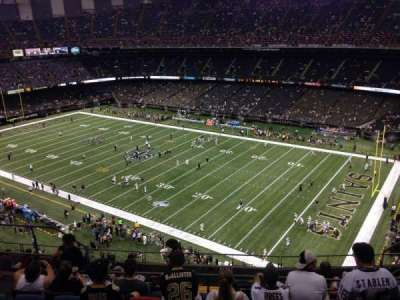 Mercedes-Benz Superdome section 634