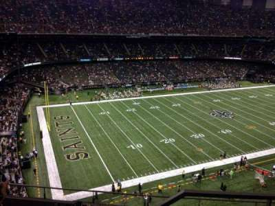 Mercedes-Benz Superdome section 646