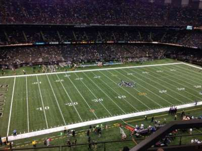 Mercedes-Benz Superdome section 644