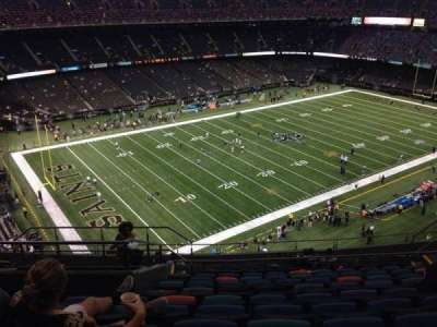 Mercedes-Benz Superdome section 620