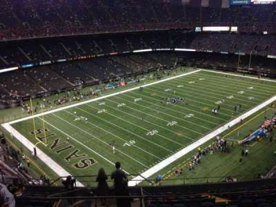 Mercedes-Benz Superdome section 621