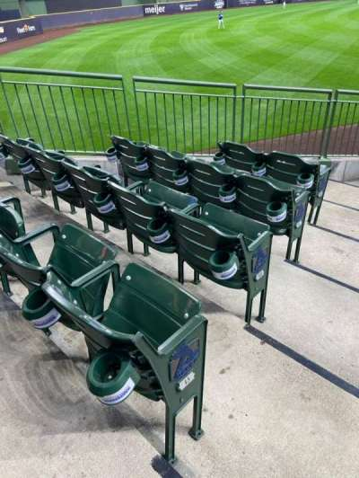 American Family Field, section: 130, row: 13, seat: 1