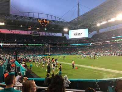 Hard Rock Stadium, section: 138, row: 3, seat: 17