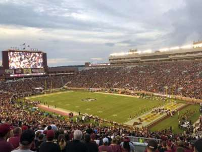 Bobby Bowden Field at Doak Campbell Stadium section 27