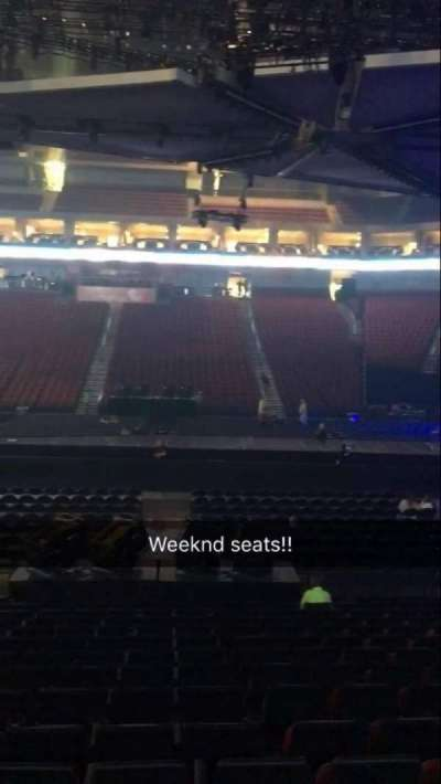 Pinnacle Bank Arena Section 106 Row 15 Seat 12