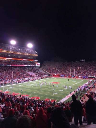 Memorial Stadium (Lincoln), section: 33, row: 56, seat: 17