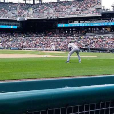 Comerica Park, section: 137, row: 2, seat: 8