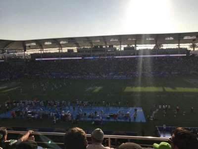StubHub Center, section: 231, row: GG, seat: 6