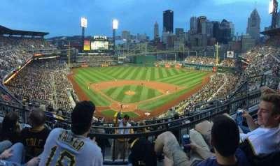 PNC Park, section: 315, row: K, seat: 11