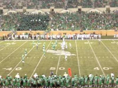 Apogee Stadium, section: 206, row: 13, seat: 24