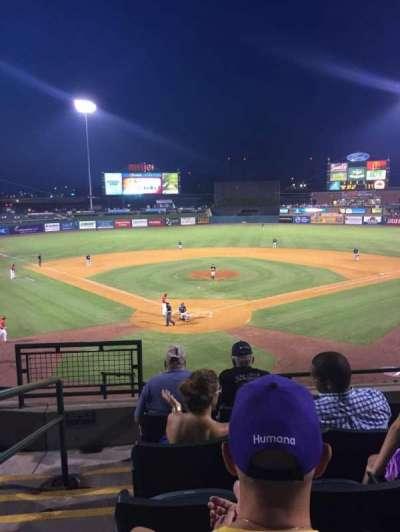 Louisville Slugger Field, section: 214, row: E, seat: 16