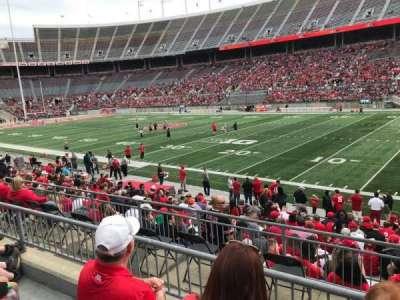 Ohio Stadium, section: 25a, row: 3, seat: 24