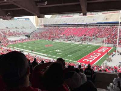 Ohio Stadium, section: 10b, row: 9, seat: 1