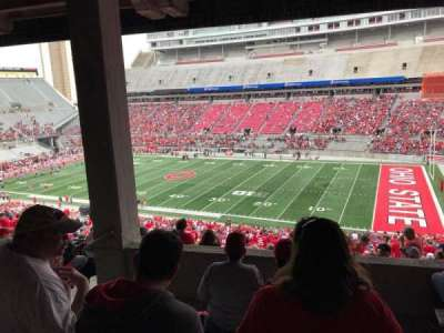 Ohio Stadium, section: 12b, row: 6, seat: 17