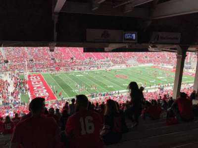 Ohio Stadium, section: 24b, row: 15, seat: 19