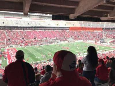Ohio Stadium, section: 24b, row: 8, seat: 18
