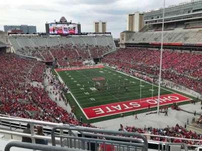 Ohio Stadium, section: 8c, row: 9, seat: 1
