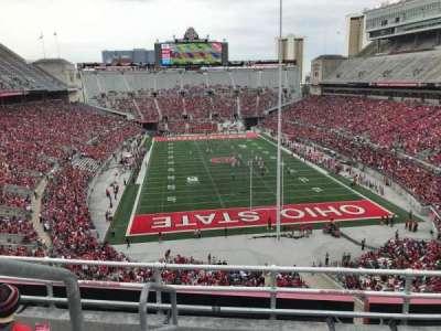 Ohio Stadium, section: 4c, row: 5, seat: 20