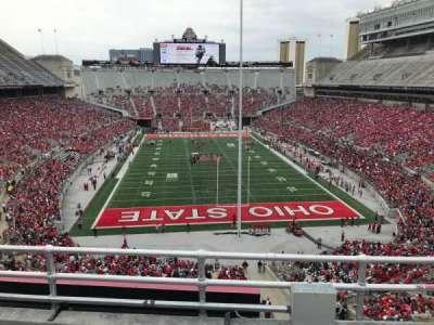 Ohio Stadium, section: 4c, row: 4, seat: 5