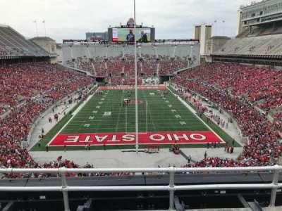 Ohio Stadium, section: 2c, row: 4, seat: 3