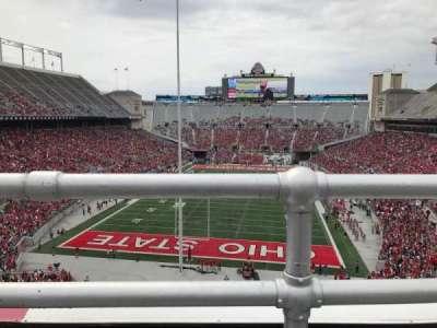 Ohio Stadium, section: 3c, row: 1, seat: 15