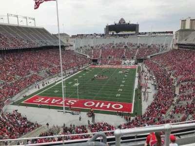 Ohio Stadium, section: 5c, row: 8, seat: 3