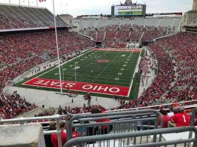 Ohio Stadium, section: 5c, row: 9, seat: 11