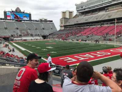 Ohio Stadium, section: 10a, row: 7, seat: 6
