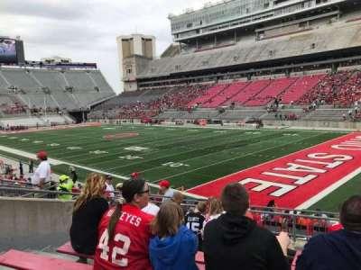 Ohio Stadium, section: 12a, row: 8, seat: 10