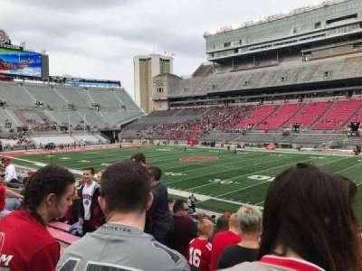 Ohio Stadium, section: 16a, row: 7, seat: 2