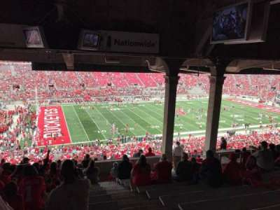 Ohio Stadium, section: 24b, row: 14, seat: 2