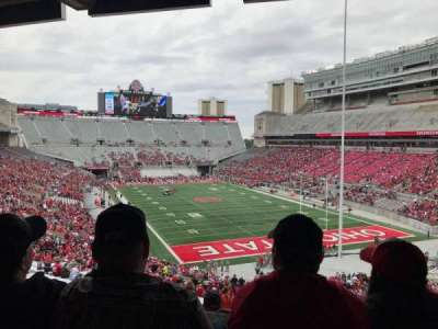 Ohio Stadium, section: 4b, row: 3, seat: 2