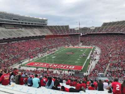 Ohio Stadium, section: 36b, row: 30, seat: 11
