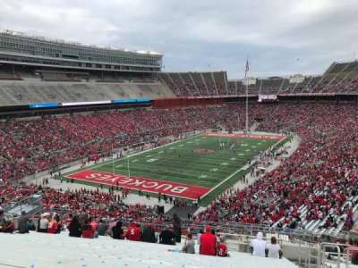 Ohio Stadium, section: 34b, row: 27, seat: 3
