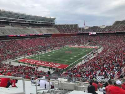Ohio Stadium, section: 32b, row: 21, seat: 15