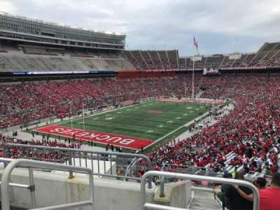 Ohio Stadium, section: 32b, row: 12, seat: 16