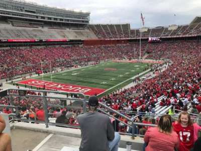 Ohio Stadium, section: 32b, row: 1, seat: 12