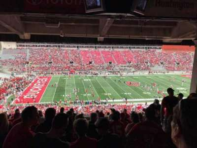 Ohio Stadium, section: 22B, row: 11, seat: 6