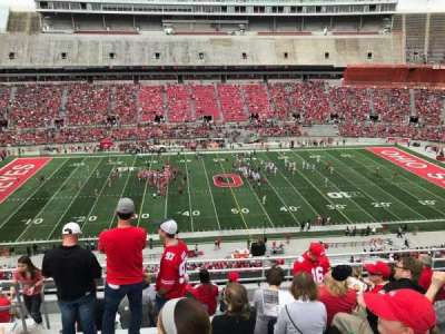 Ohio Stadium, section: 22c, row: 10, seat: 30