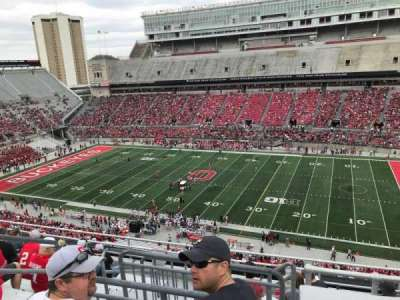 Ohio Stadium, section: 18c, row: 10, seat: 11