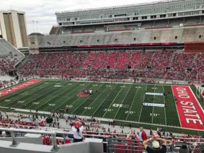 Ohio Stadium, section: 18c, row: 14, seat: 2