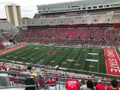 Ohio Stadium, section: 16C, row: 13, seat: 30